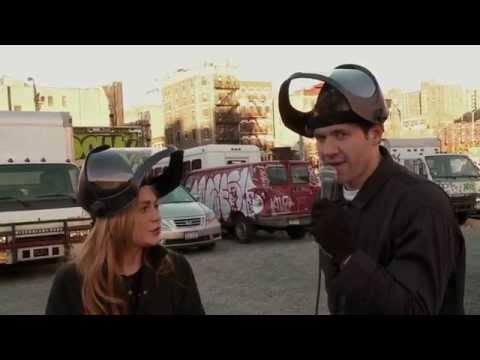Lindsay Lohan and Billy Eichner Destroy a Car