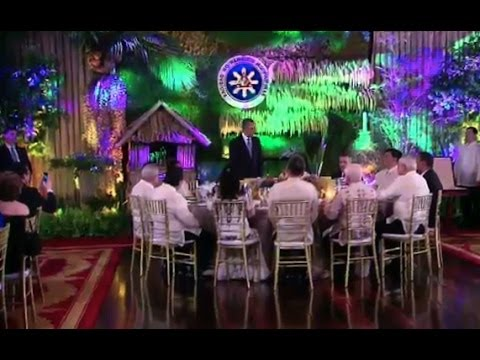 President Obama Speaks at the Philippines State Dinner