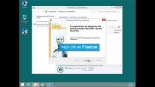 Desinstalar ESET NOD32 Antivirus O ESET Smart Security En