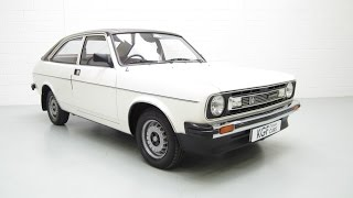 Delightful Morris Marina 1300L Coupe, Only 29,912 miles, Low Owners and Full History - SOLD!