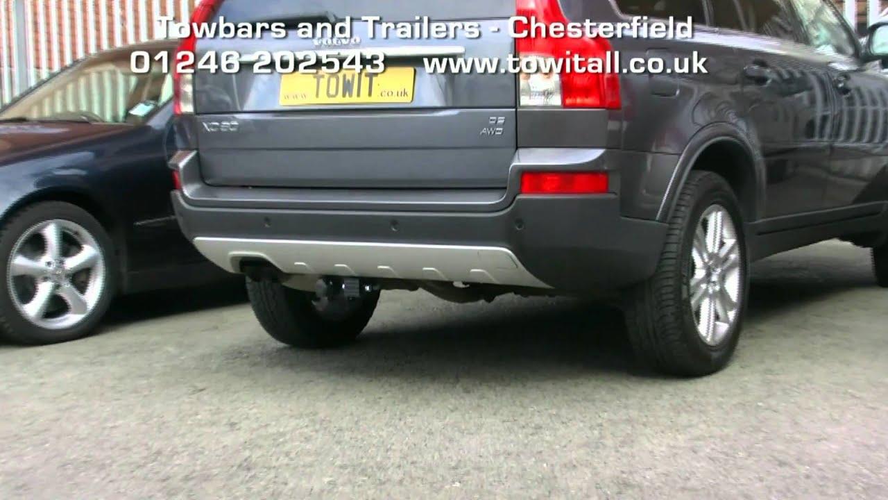 Towbar Video Volvo Xc90 Detachables Youtube