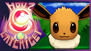 How & Where To Catch/get Eevee In Pokemon X And Y