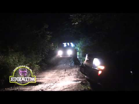 Jeepers Meeting 2014 notturna