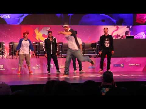 STORM (BATTLE SQUAD) / JUDGE SHOW / R16 2014 Final Bboy 1 on 1 / Allthatbreak.com