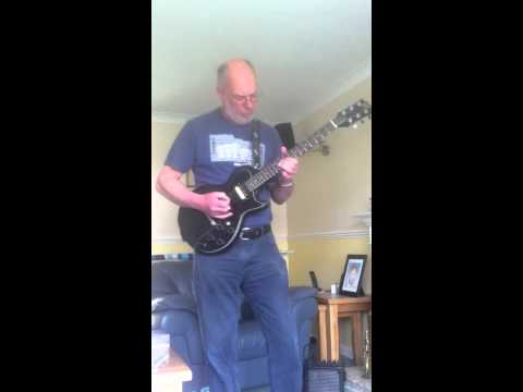 My Dad having a Sunday jam. Legend.