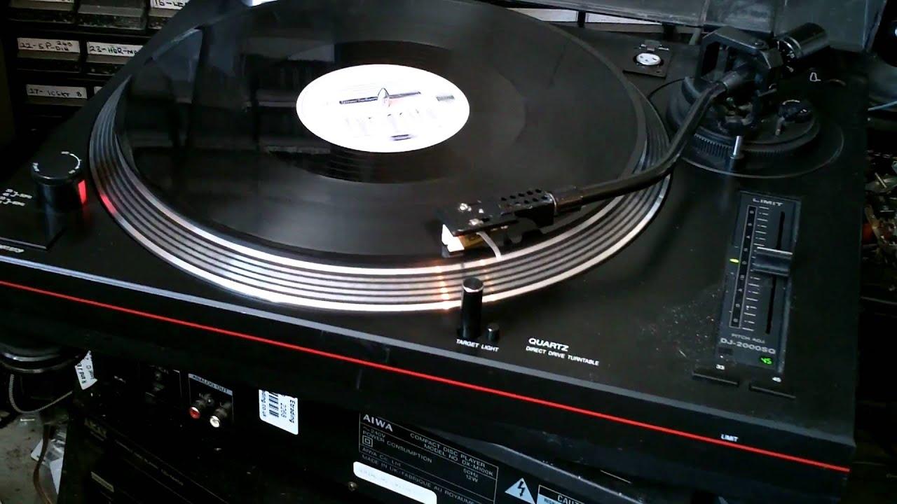 Limit DJ Turntable DJ2000 SQ - YouTube