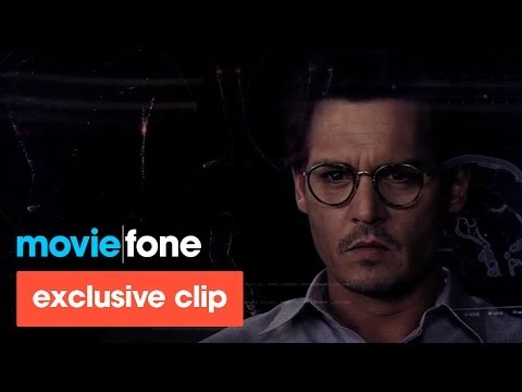 'Transcendence' DVD Clip (2014): Johnny Depp, Rebecca Hall