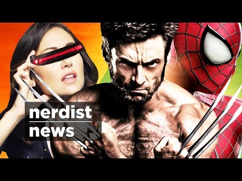 X-MEN and SPIDERMAN Crossover? & More! (Nerdist News w/ Jessica Chobot)