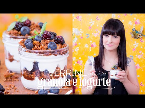 Verrine de Granola e Iogurte |  Vamos pra Cozinha #07