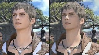 Final Fantasy 14: PlayStation 3 vs. PC Comparison