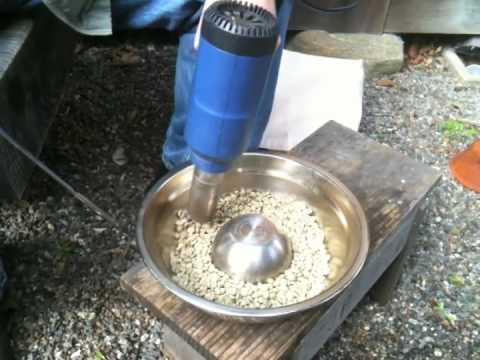 DIY Coffee Roasting: Hot Air Gun Method