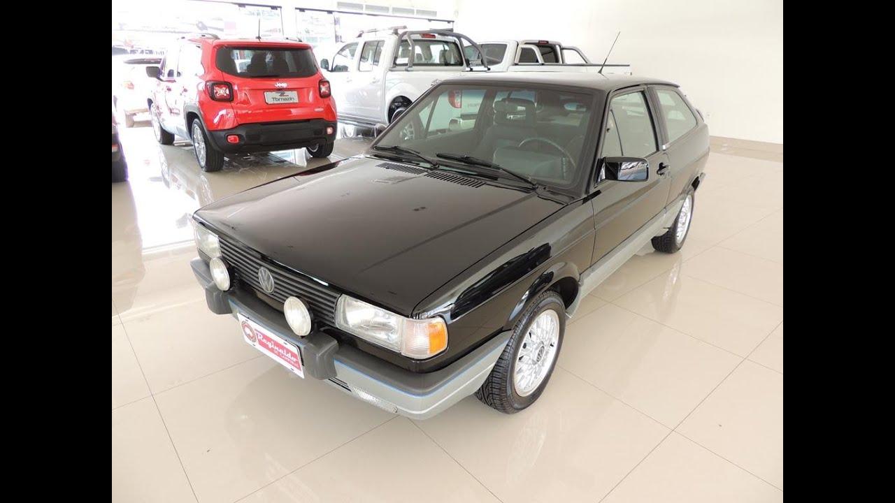 Gol GTI 1994 fabricado apenas 112 unidades na cor preta