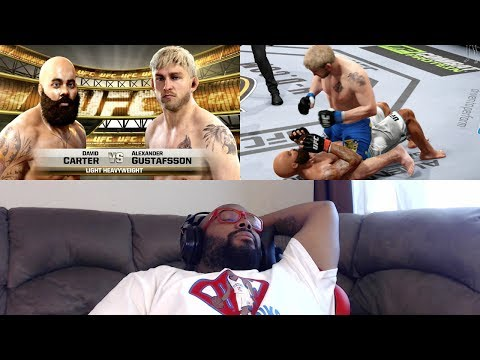 EA SPORTS UFC Career Mode FACECAM: I'M SLEEP THO! VS. Alexander Gustafsson Ep. 26 (PS4 Gameplay)