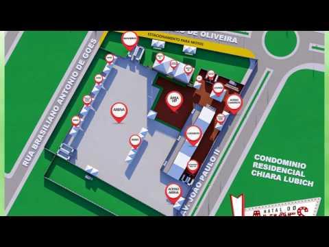 Natal do Aviões - Mapa da Festa