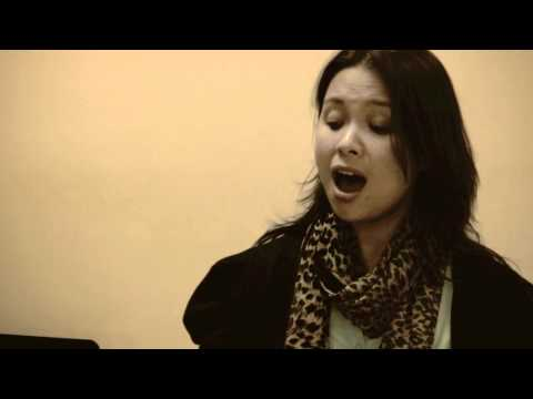 SUITES BY SONDHEIM: In rehearsal with LEA SALONGA
