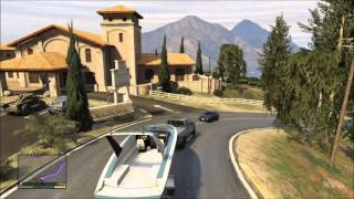 Grand Theft Auto 5 Car Boat Trailer Gameplay [HD
