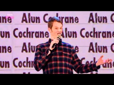 Alun Cochrane on Russell Howard's Good News