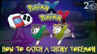 2Yes! Pokemon X And Y How To Catch Shiny Pokemon W