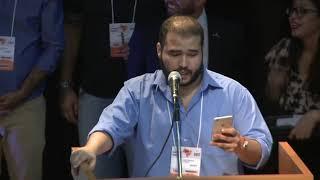 Deputado Lucas Vergilio fala na Convenção Nacional do Solidariedade