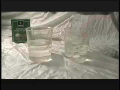 Su tuz karışımının özkütle ilişkisi