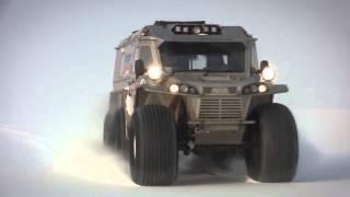 Vehículo 6X6 Ruso