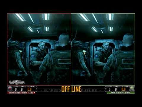 Сравнение графики в синглплеере PS3 vs Xbox 360