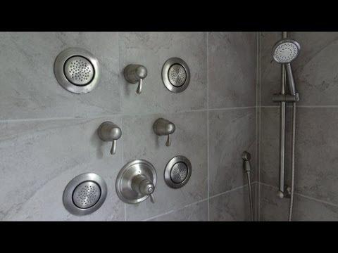 Part 1 Moen Ts276 Custom Vertical Spa Shower System