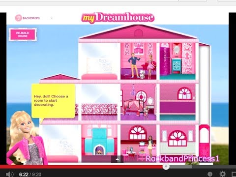 Barbie Life in The Dreamhouse Barbie Games for Girls and Kids