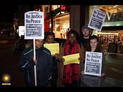 Vigil for Justice for Mark Duggan | Birmingham 2014
