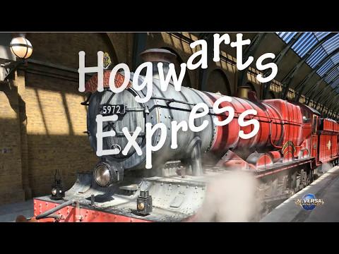 Hogwarts Express - Universal Studios - Full trip (POV)