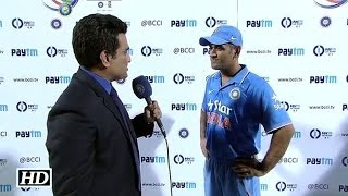 IANS : Dhoni's Reaction on losing ODI series vs South Africa