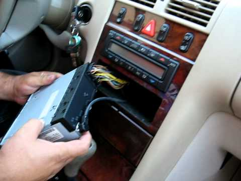How To Remove Radio Cassette From 1998 Mercedes E320 For