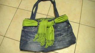 """Bolso"" - Ideas para reciclar pantalones"