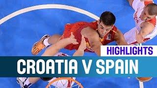 Croatia V Spain- Highlights Semi-Finals2014 U20