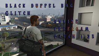 Black Duffel Bag Glitch GTA V Online