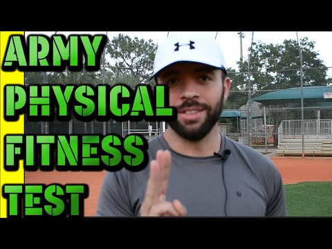 Army Physical Fitness Test (APFT) attempt #1