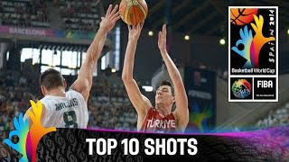 Top 10 Shots - 2014 FIBA Basketball World Cup