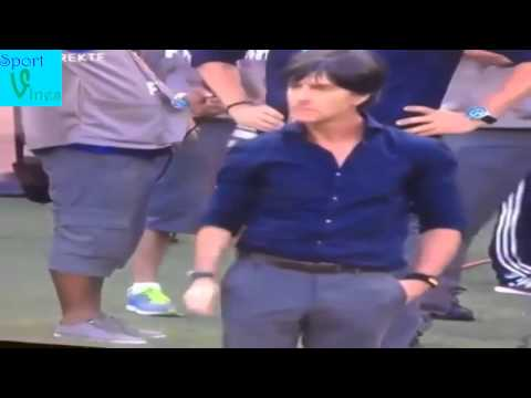 Joachim Löw picks nose and shakes hand Ronaldo! Germany Vs Portugal