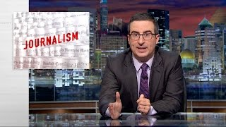 John Oliver: Even Fictional Journalists Can't Catch a Break