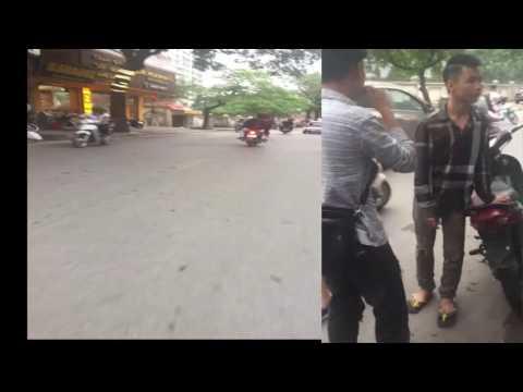 Chém nhau kinh hoàng Thụy Khê-Văn Cao, Hà nội,1 hot girl nằm tại chỗ