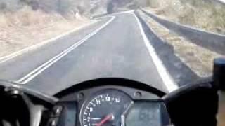 CBR600 ONBOARD DIQUE LOS MOLINOS CORDOBA ARGENTINA