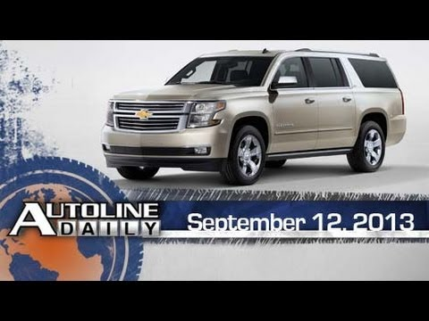 GM Reveals New Full-Size SUVs - Autoline Daily 1213