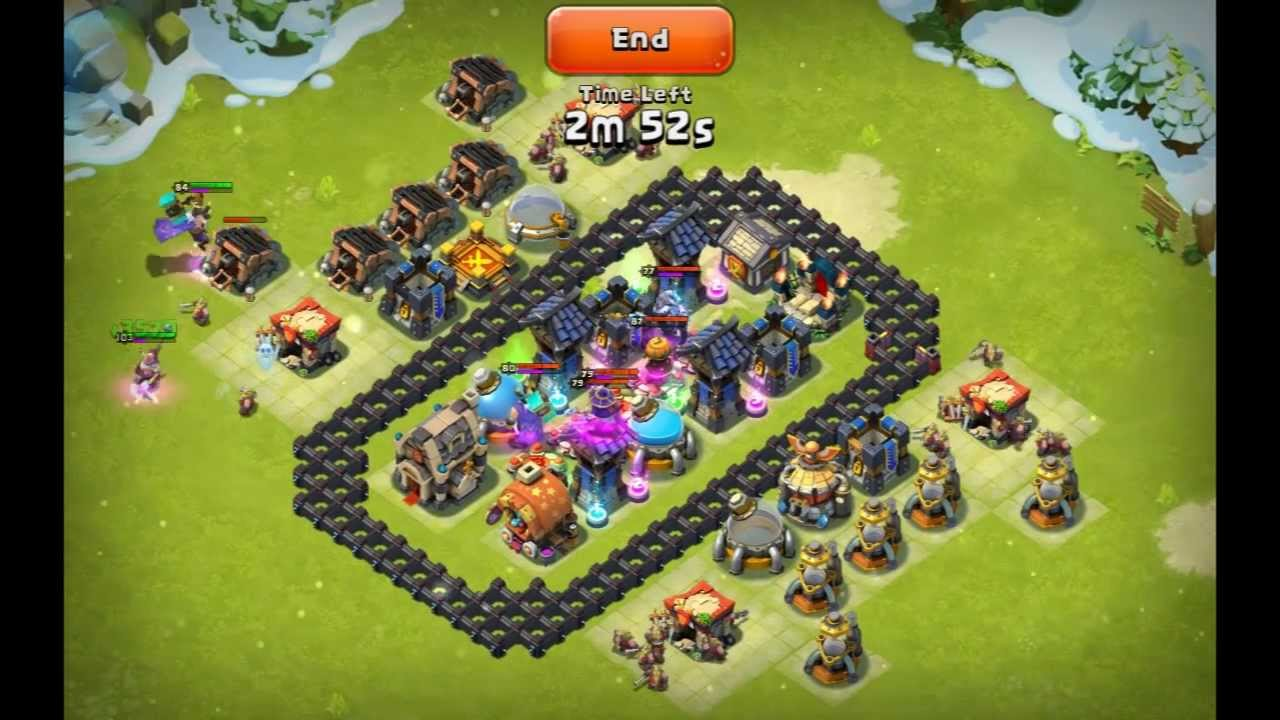 Castle clash strategy 18 here be monsters challenge d distaggio