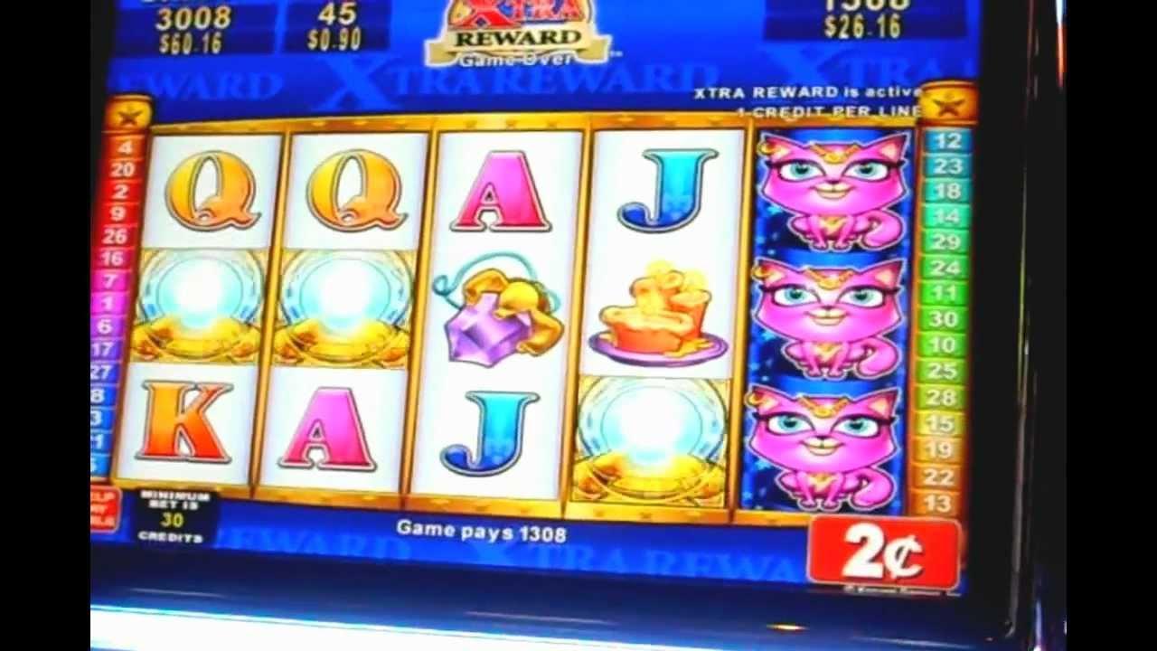 clairvoyant cat slot machine