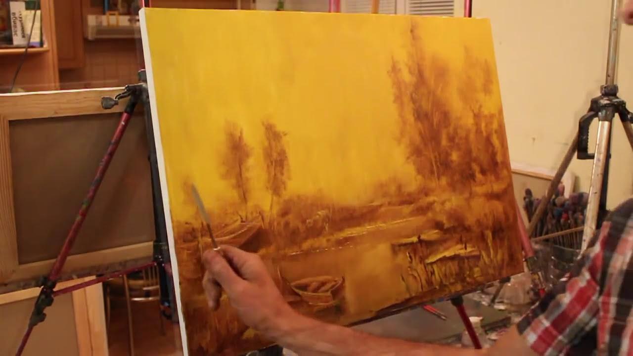 Мастер класс по живописи боб росс 72