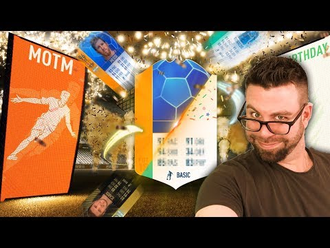 HUGE MOTM WALKOUT and INSANE ICON PACK PULL!!!!!! FIFA 18 Ultimate Team Pack Opening
