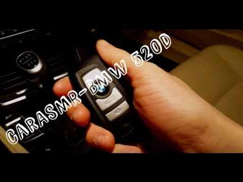 ASMR in the car #2 - BMW 520d(F11)   Tapping   Brushing