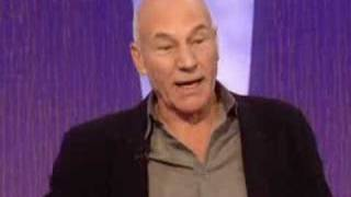 Patrick Stewart on Going Bald at a Young Age