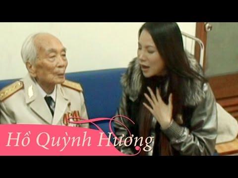 Hồ Quỳnh Hương Hát Tặng Đại Tướng Võ Nguyên Giáp.