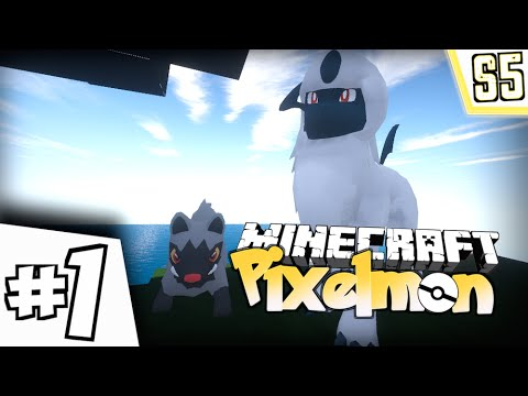 "Minecraft Pixelmon - ""SPOOPY START!"" - (Minecraft Pokemon Mod) Part 1"